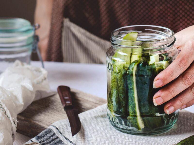 Opskrift på syltede agurker (hjemmelavet)